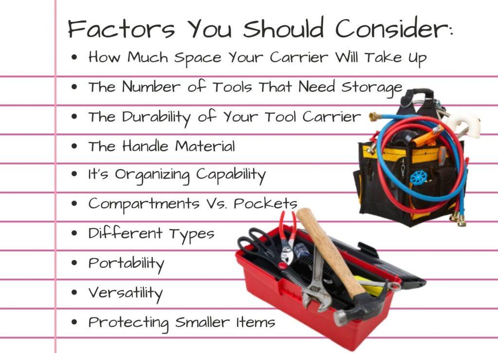 tool bag vs box factors