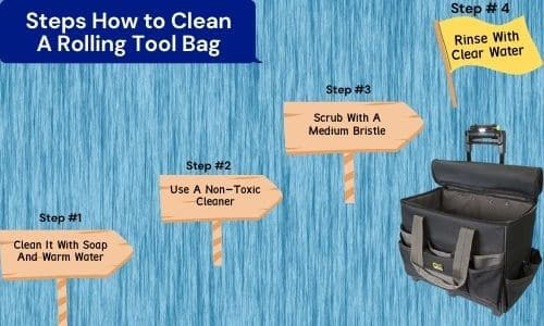 Steps How to Clean A Rolling Tool Bag