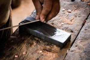 carpenter Sharpening Stone