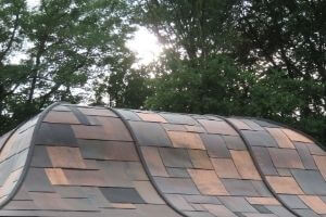Copper for metal roofing