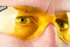 Safety glasses mechanic