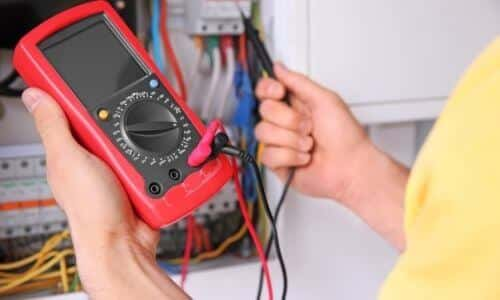 Use of Voltage Tester on a Light Switch