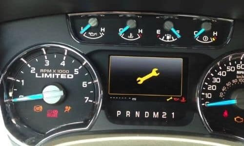 What Does the Wrench Light Mean on a Ford Fusion