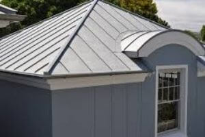 Zinc for metal roofing