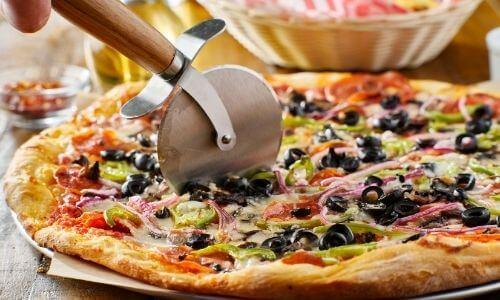A Pizza Cutter