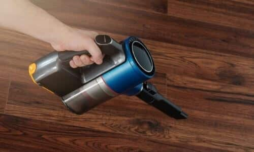 Rid of Existing Dust from Floor