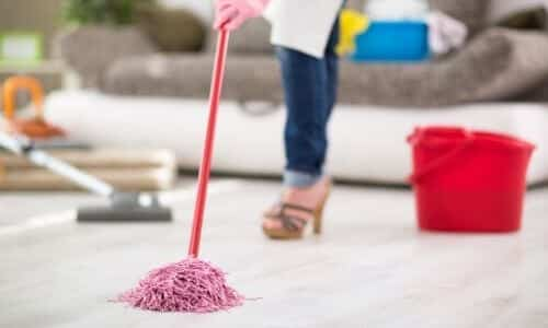 Rinsing and Mopping