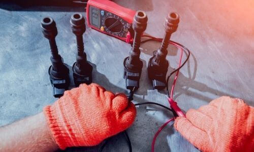 Test a Coil with a Multimeter