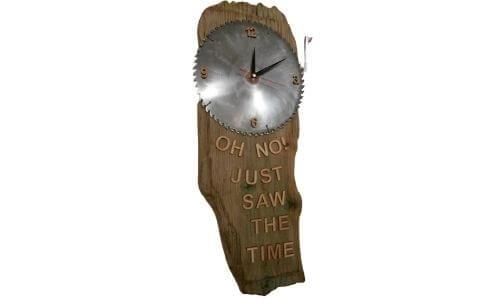 Turn Blades into Clocks