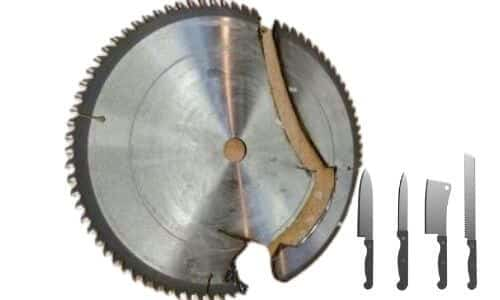 Turning Saw Blades into Knive