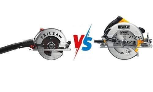 circular saw vs skill saw