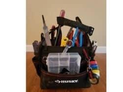 husky electrician bag