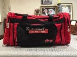 lincoln electric welding bag