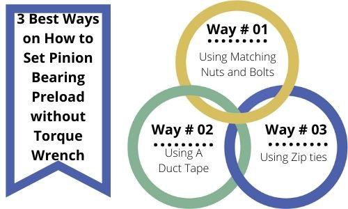 3 best Ways on Set Pinion Bearing Preload